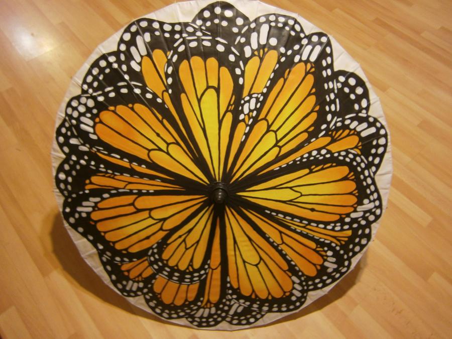 Butterfly Parasol by Merwenna