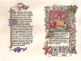Nuala's Laurel Scroll by Merwenna