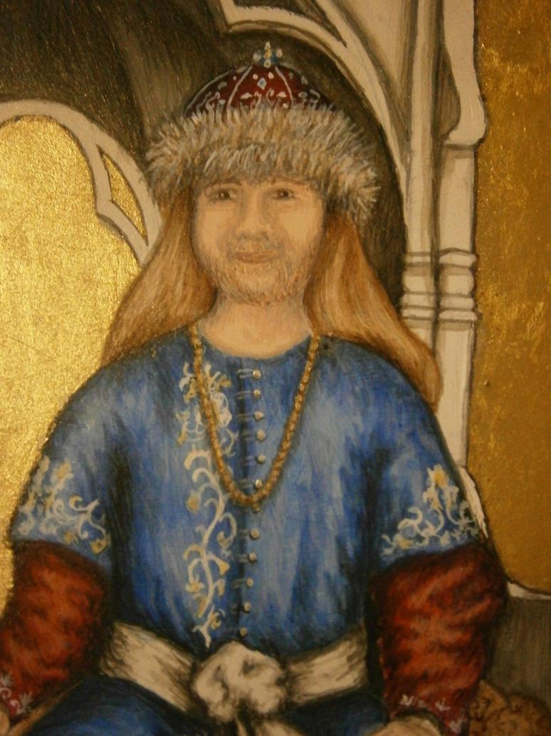 Ducal Triptych - Vladimir (Detail) by Merwenna