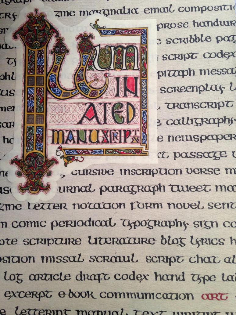 Illuminated Manuscripts by Merwenna