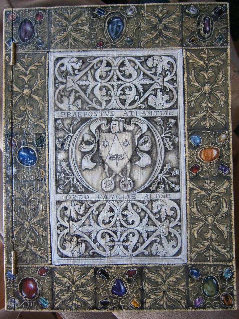 Medieval Book Box (Front) by Merwenna