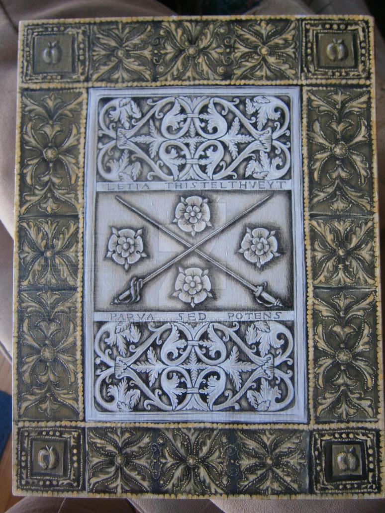 Medieval Book Box (Back) by Merwenna