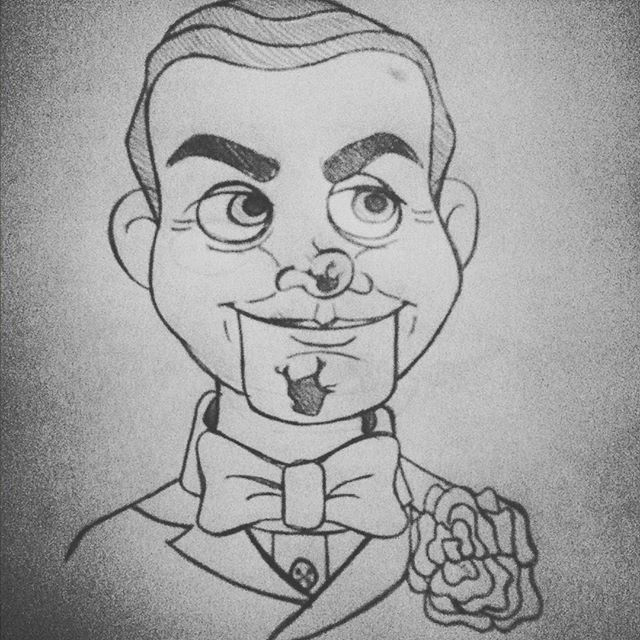 slappy the dummy coloring pages - photo#8