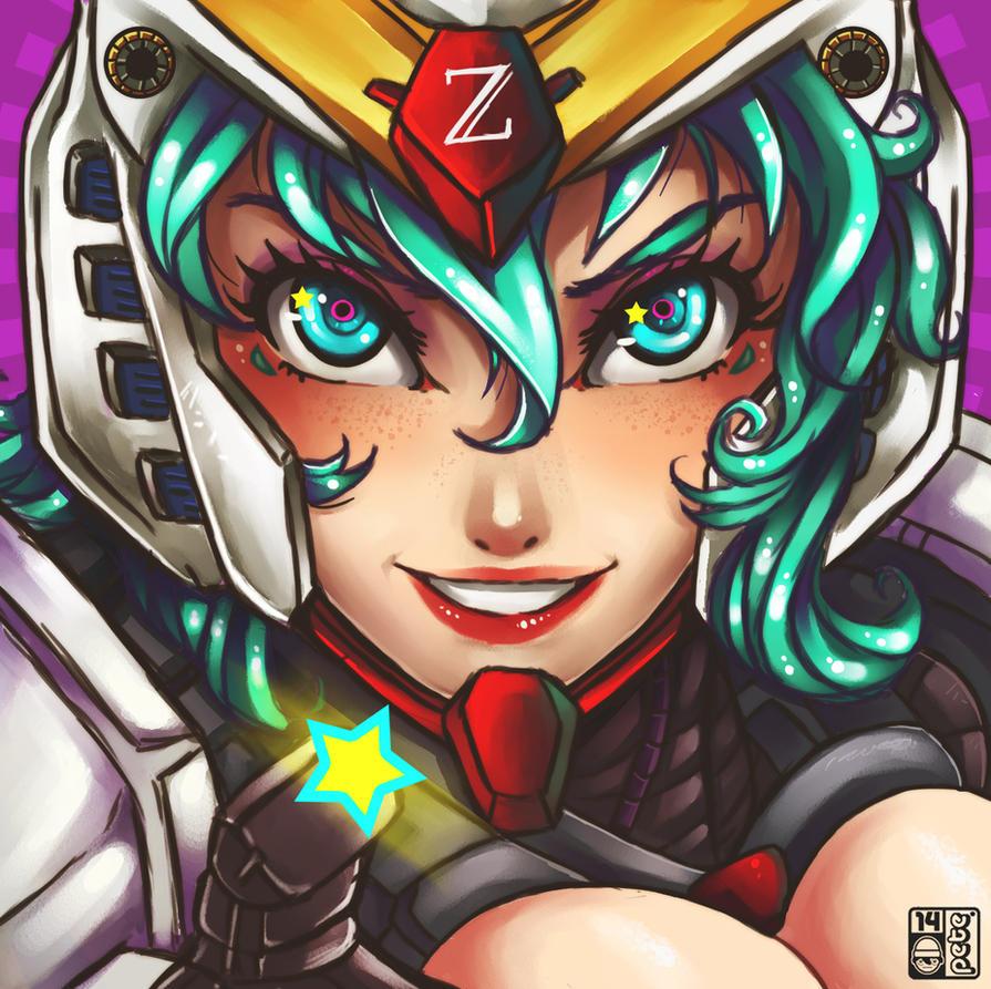 Gundamu-Gals by peterete
