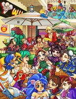 Relax- Capcom Fighting Tribute by peterete