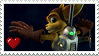 Stamp - Ratchet and Clank by Rexcalibur