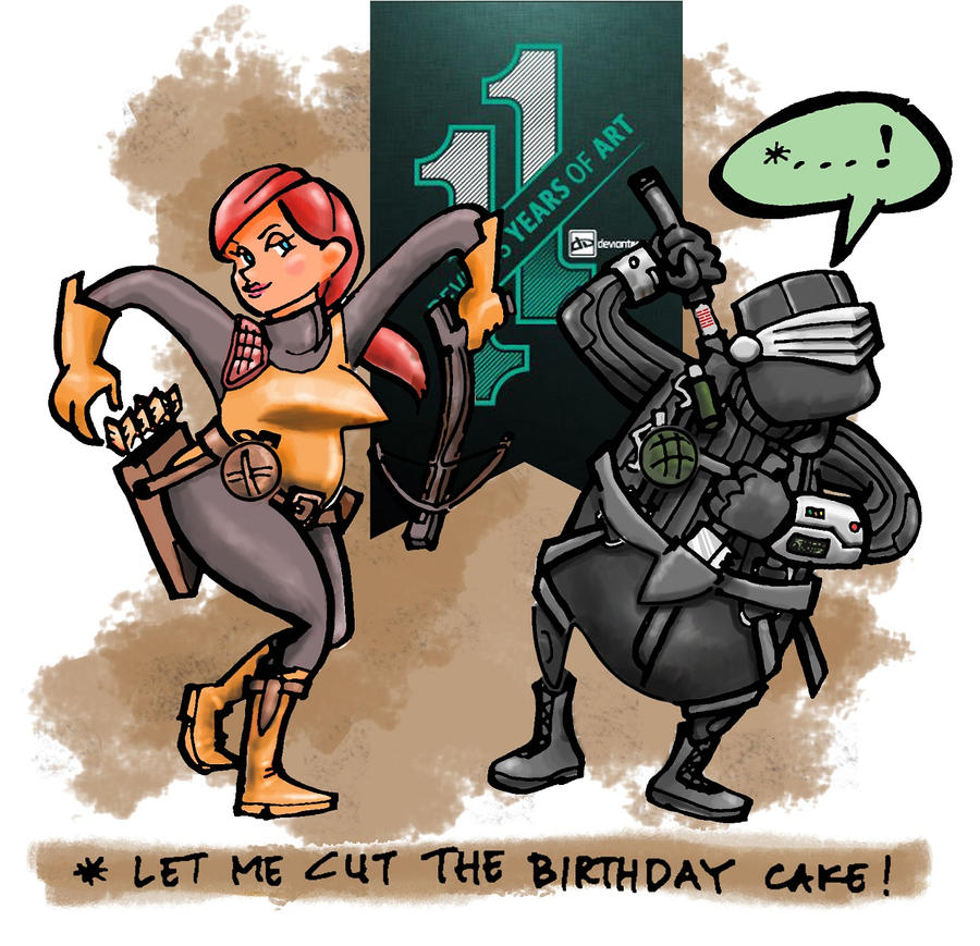 let me cut the birthday cake by 123wbb