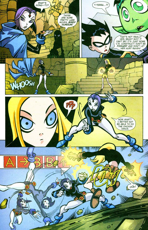 Raven Superhero And Beast Boy Beast Boy Controlling Raven pt