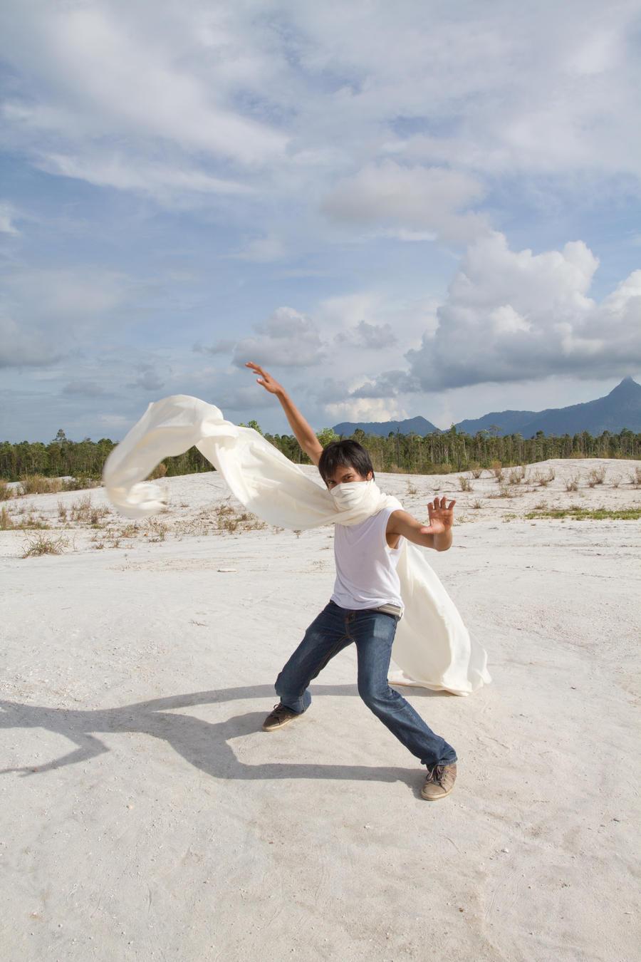 NInja sand by arya-poenya-stock