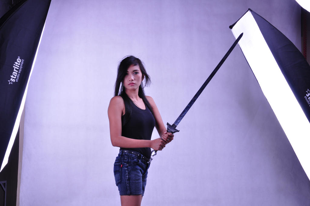 Girl with Sword 3 by arya-poenya-stock
