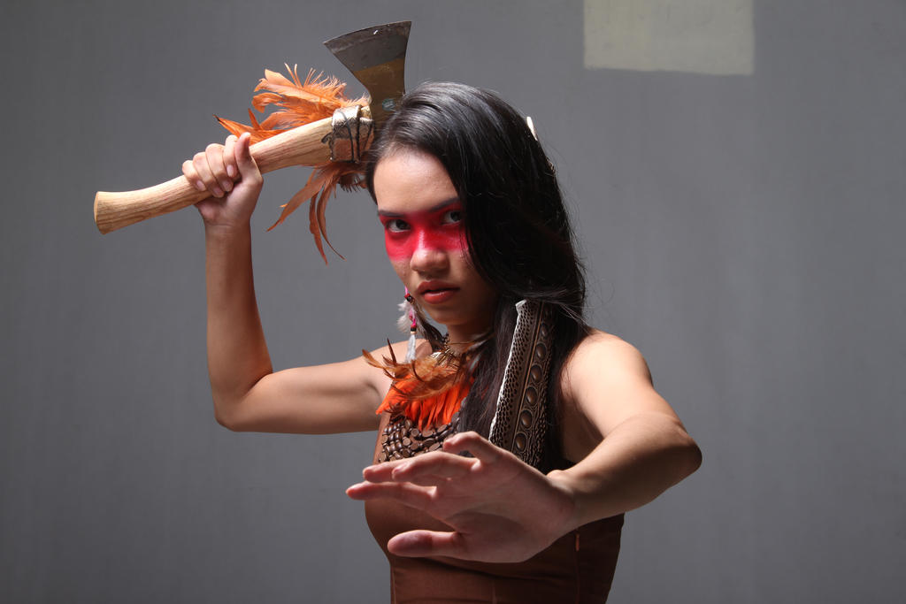 Native American by arya-poenya-stock