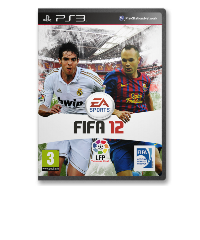 FIFA 2012 Cover by jeanpaul007 on deviantART