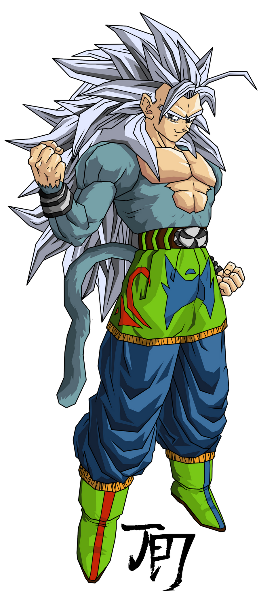 Ultimate Goku SSJ5 T.A. by jeanpaul007 on DeviantArt