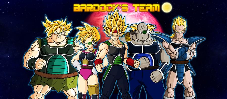 Bardock Team SSJ by jeanpaul007 on DeviantArt