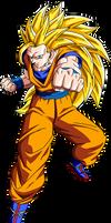 Goku SSJ3 by jeanpaul007