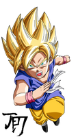 Goku GT SSJ by jeanpaul007