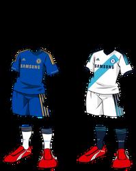 InazumaEleven Kits: Chelsea FC 12-13