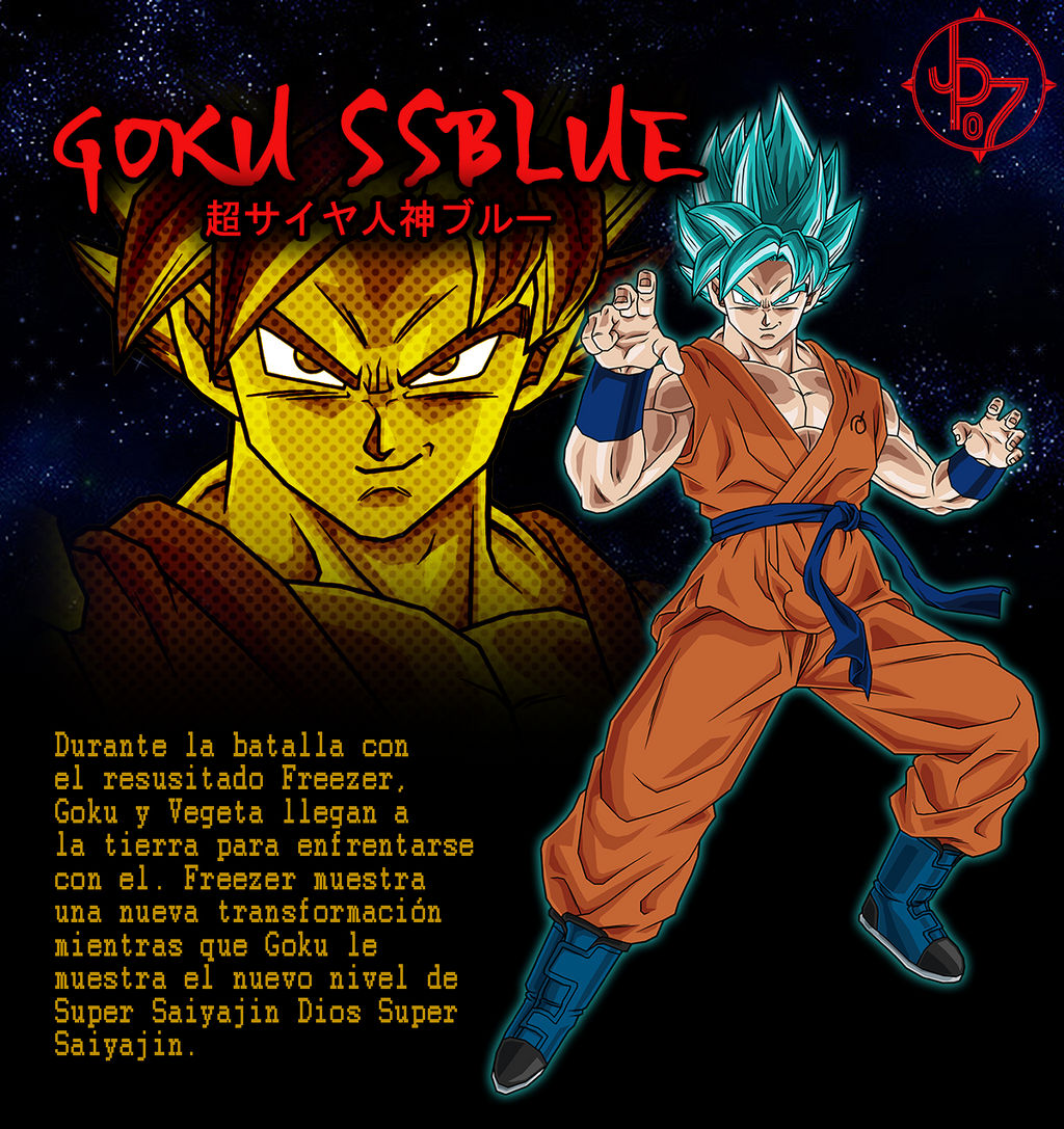 Goku Super Saiyan Blue BT3 Artbox by jeanpaul007 on DeviantArt