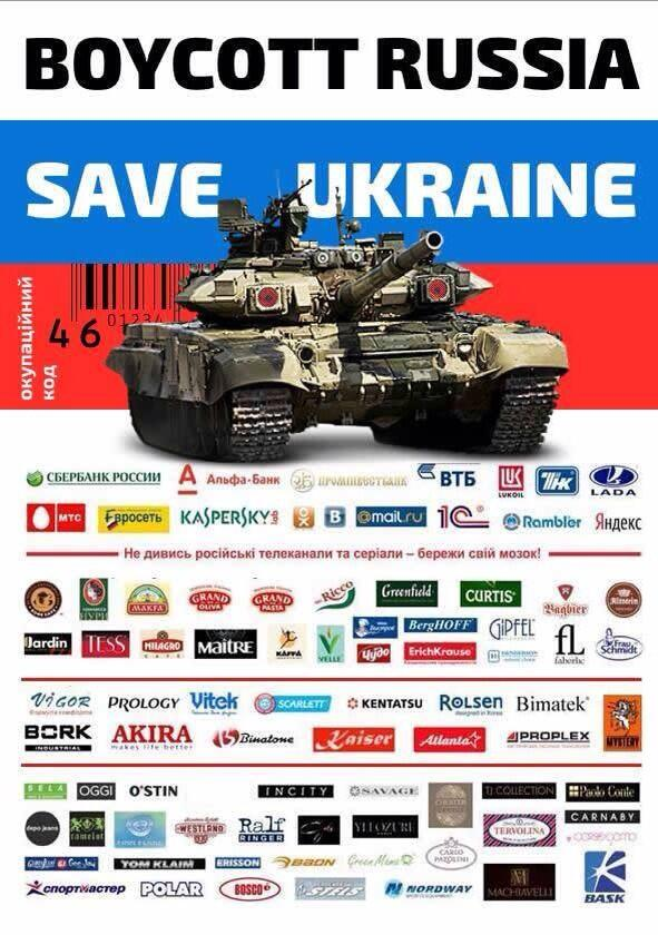 Boycott Russia by LadyAdaraConstantine