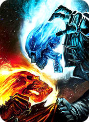 Ghost rider vs. Ghost rider by YoungML500