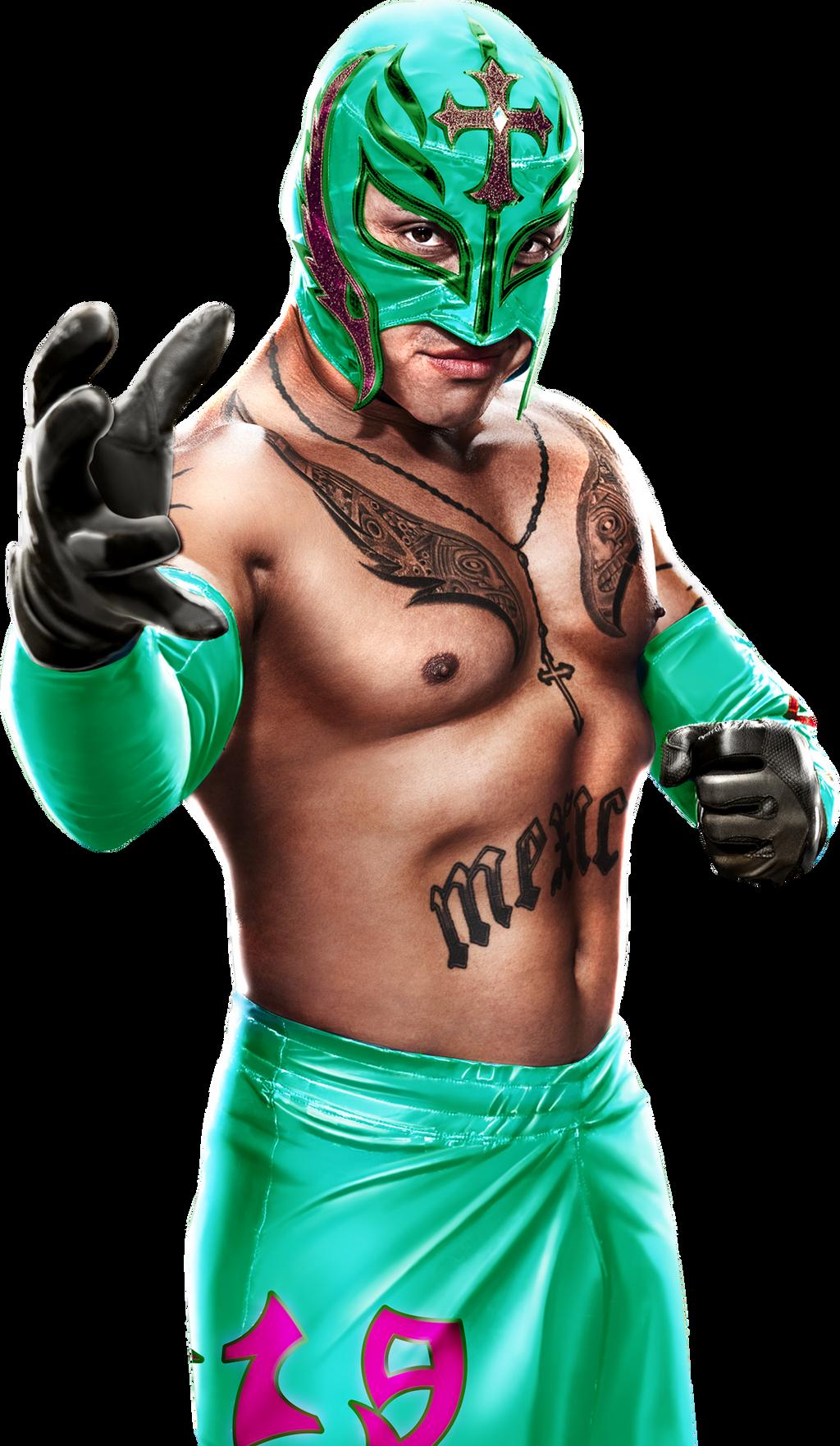 Rey Mysterio Render 1 by BLACKrangers123 on DeviantArt