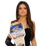 Selena Gomez SmackDown Women Champion Render 1