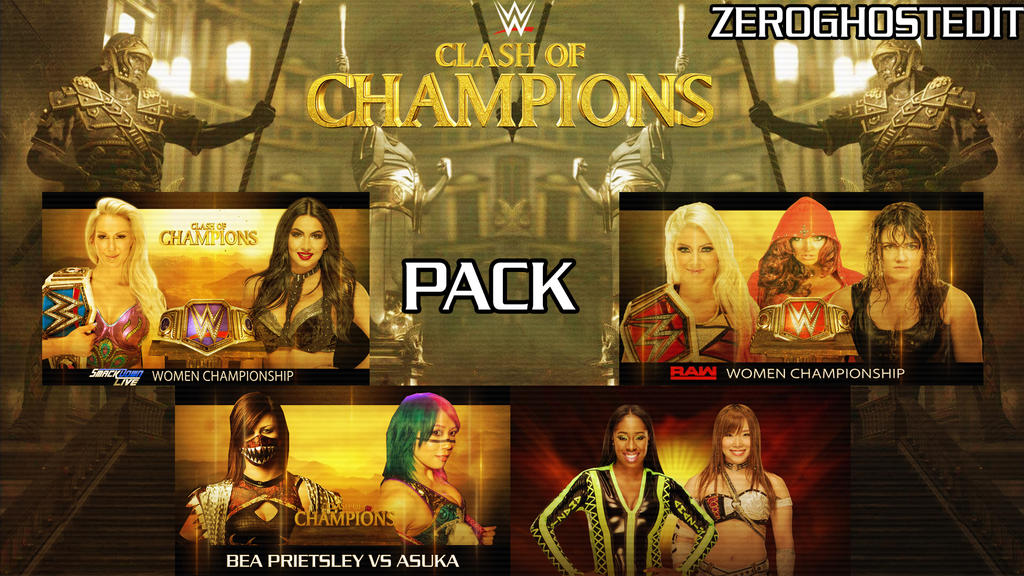 Pack MC Clash of Champions 2017 by BLACKrangers123
