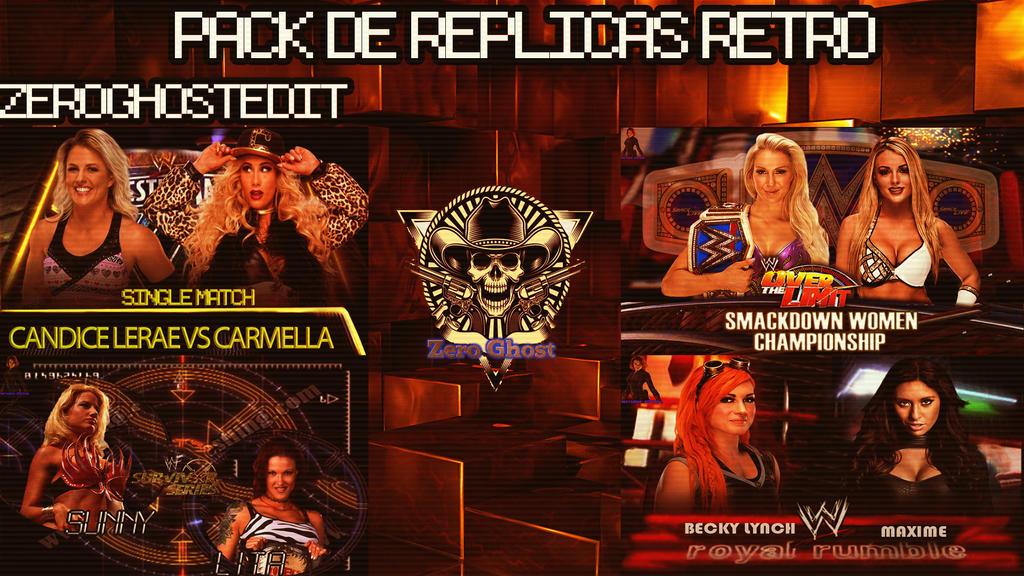Pack WWE Retro 1 by BLACKrangers123