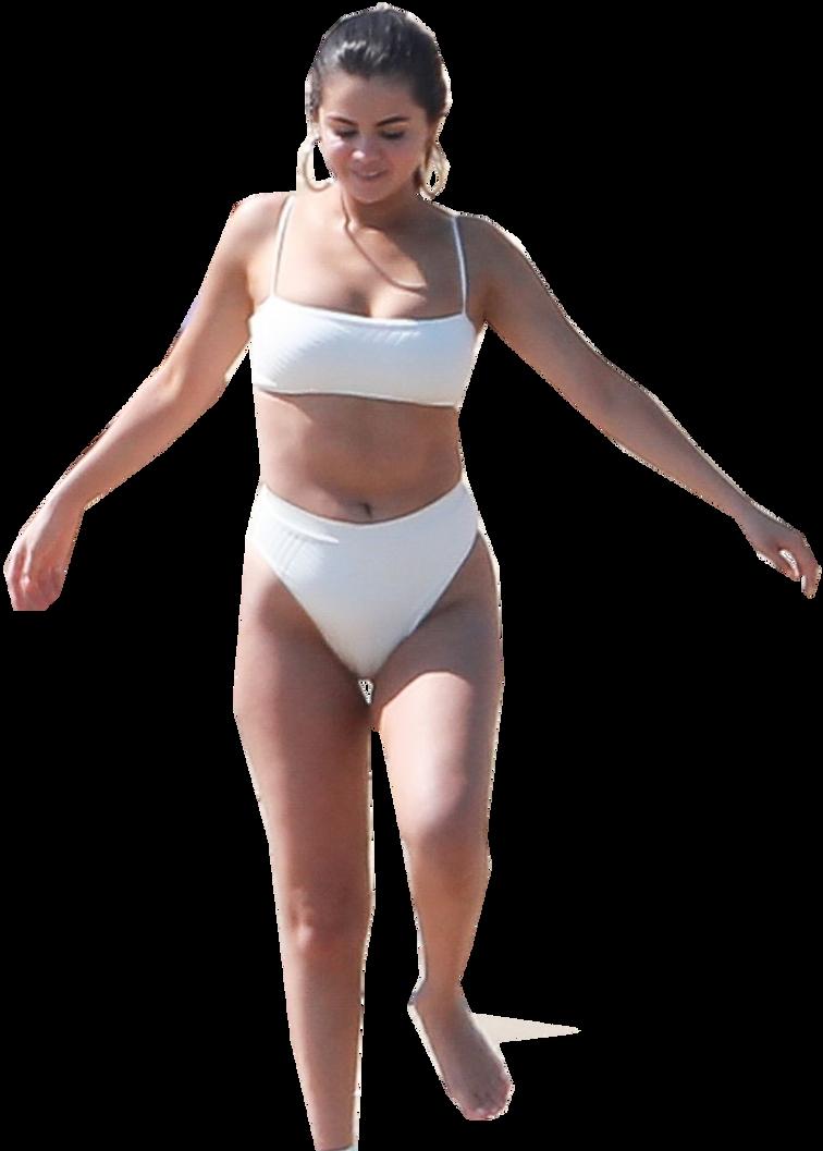 Selena Gomez Black And White Bikini Selena Gomez Instagram