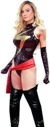 Ms Marvel : Brie Larson by BLACKrangers123
