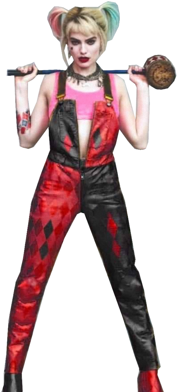 Harley Quinn Bird Of Prey Black And Red By Blackrangers123 On Deviantart