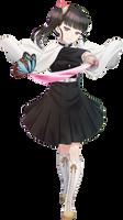 Kimetsu no Yaiba Kanao Render N-2
