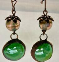 Renaissance Artifact Earrings by mermaidencreations