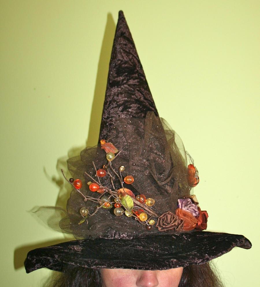 Autumn Woodland Witch Hat by mermaidencreations on DeviantArt