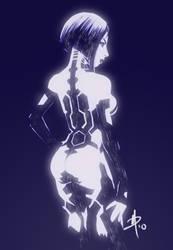 Cortana - Virtual girl by polarityplus