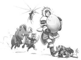 Monster Hunter - Egg by polarityplus