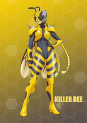 Cammy - Kamen Rider Killer Bee by polarityplus