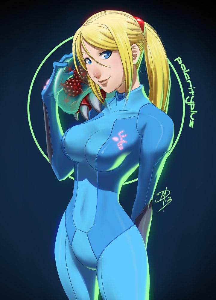 Zero Suit Samus by polarityplus