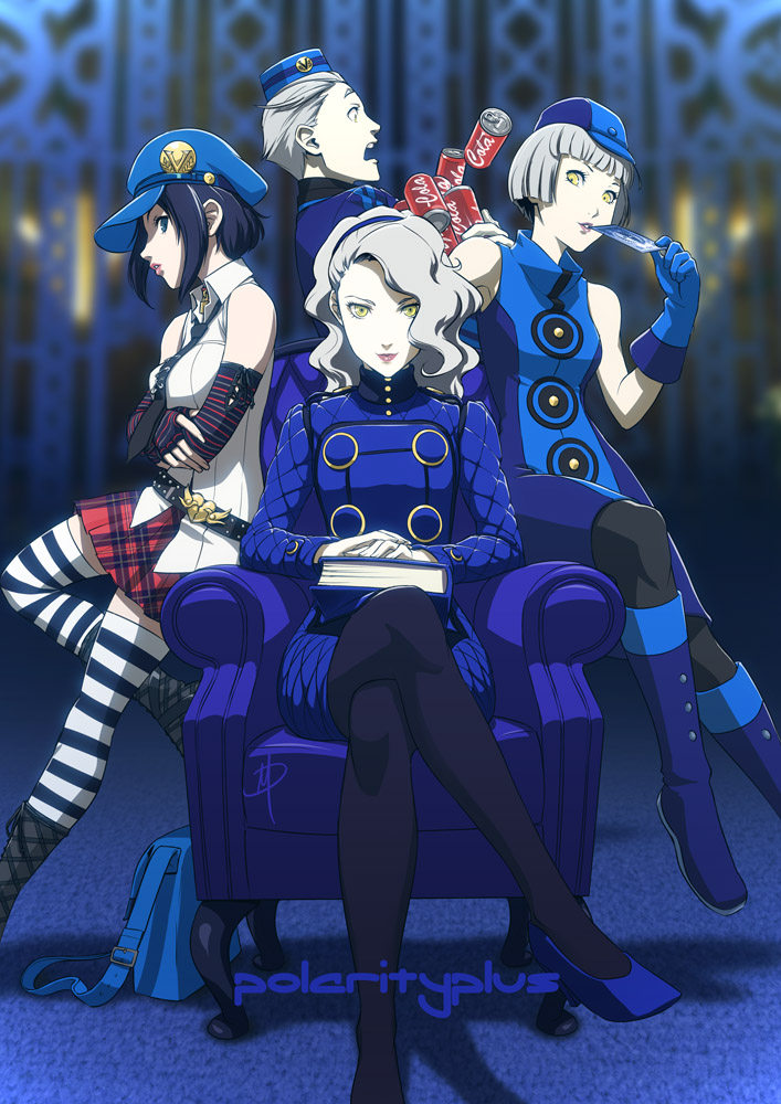 Persona - Welcome to the Velvet Room by polarityplus on DeviantArt