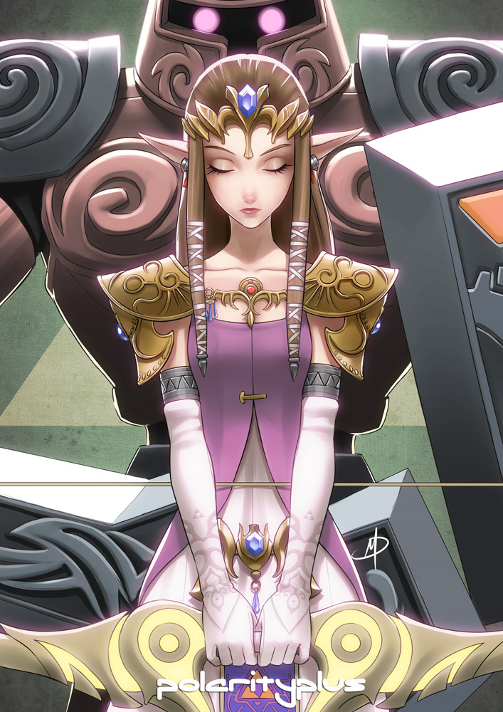 Zelda - Phantom Princess by polarityplus