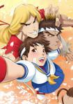 Selfie-shoto - Capcom Fighting Tribute