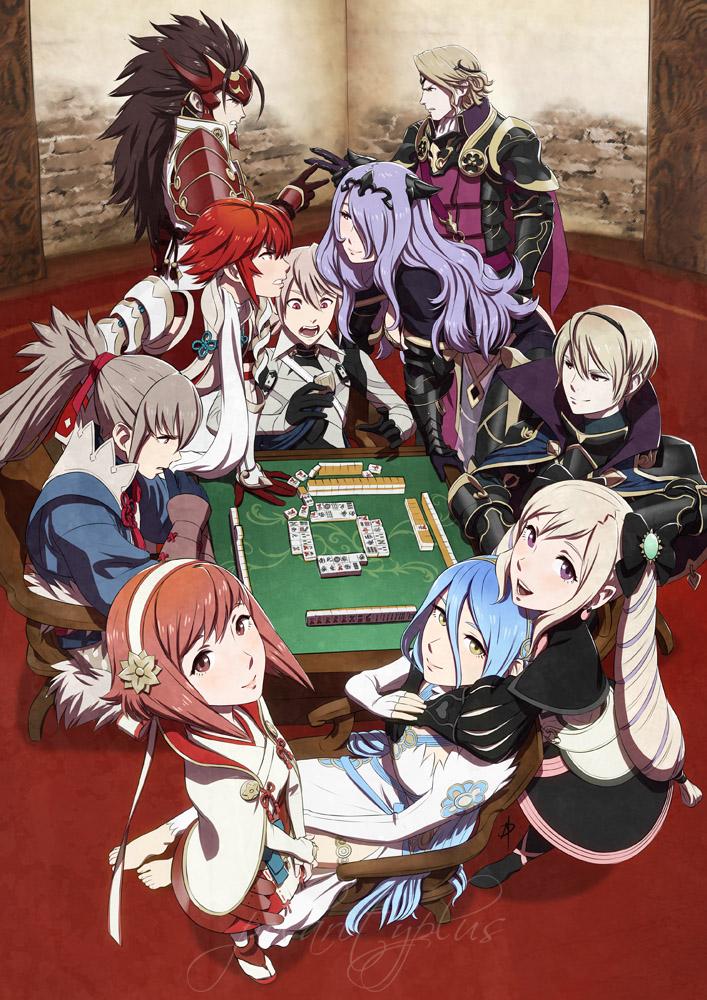 Fire Emblem 14 - Mahjong Fates by polarityplus