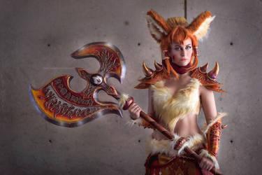 Warrior Arcanine