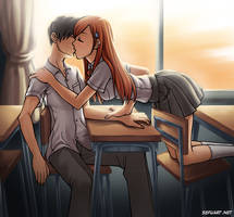 Orihime and Ed by Speeh