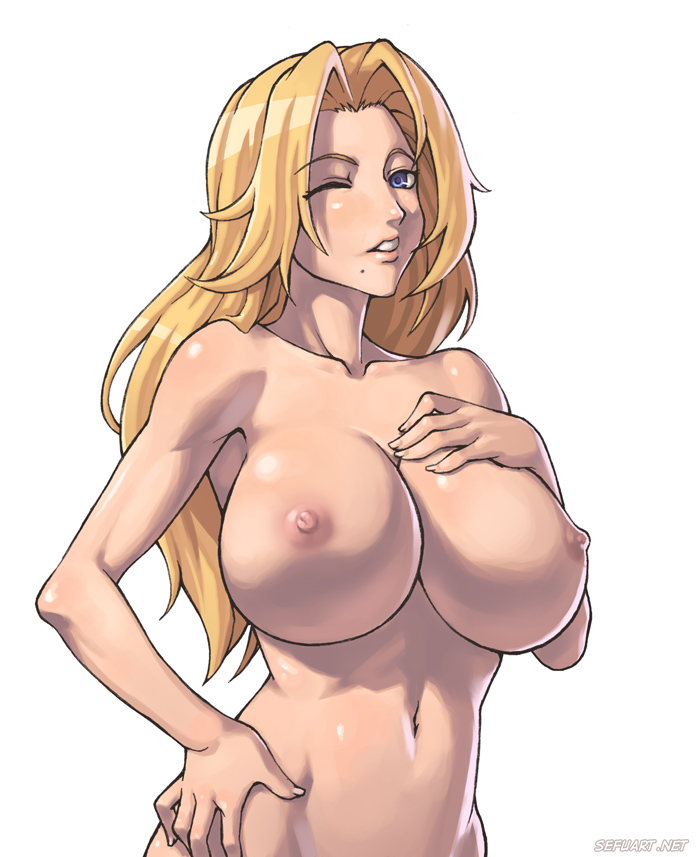 naked girls from bleach with big breasts