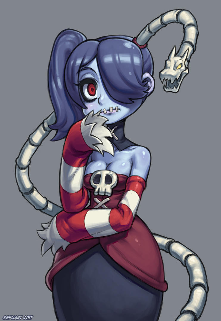 Skullgirls - Squigly by Speeh