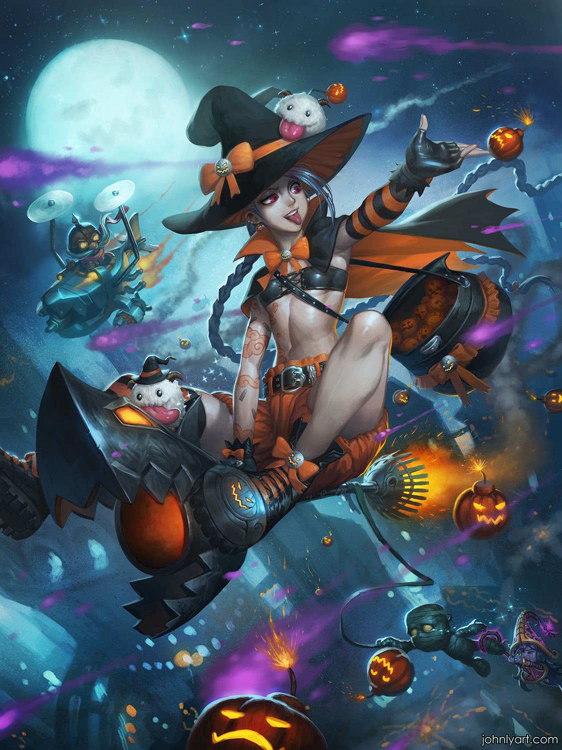 A Halloween Over Piltover by Speeh on DeviantArt