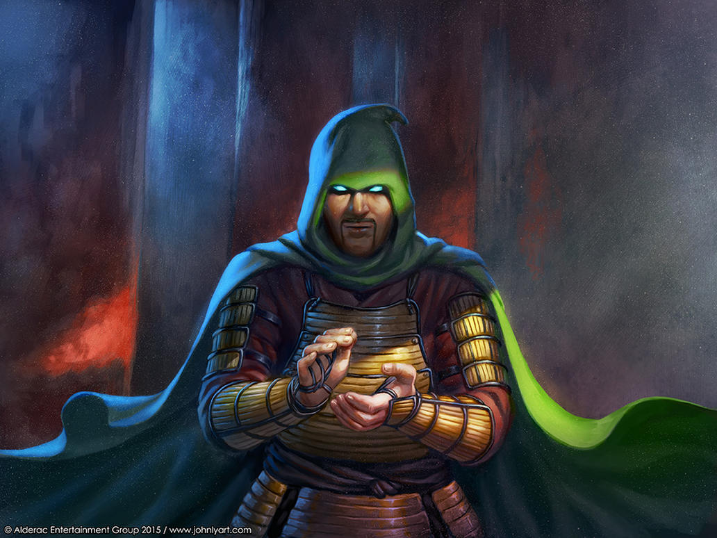 L5R - The Hooded Ronin by Speeh