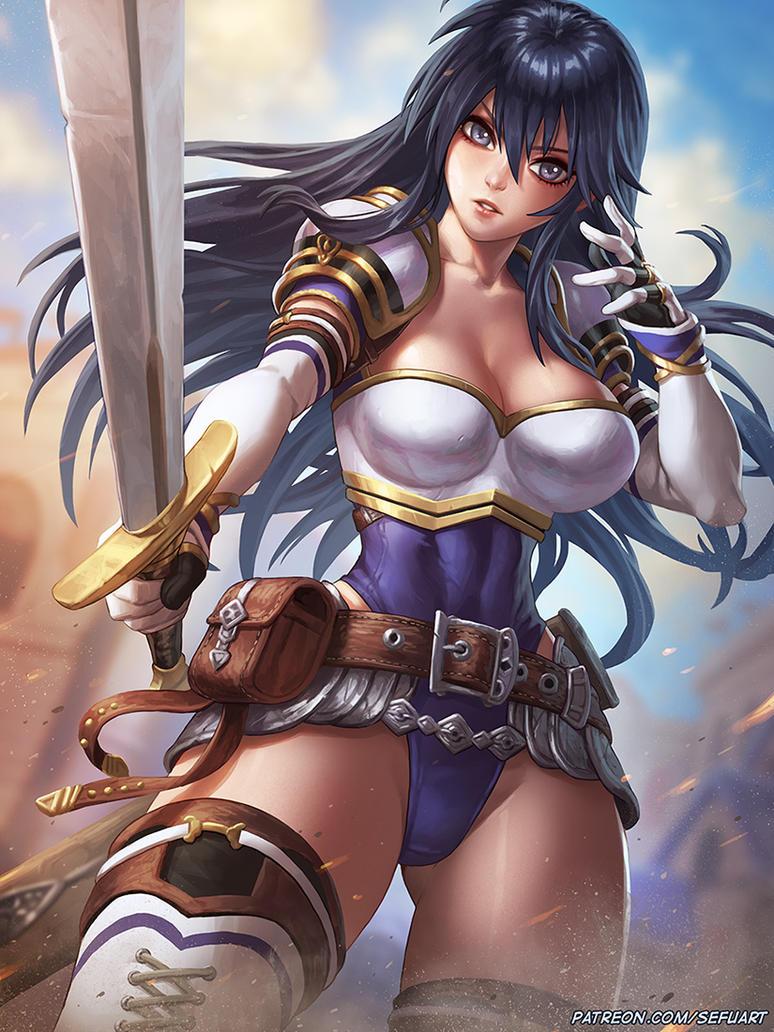 Fire Emblem: Ayra by Speeh
