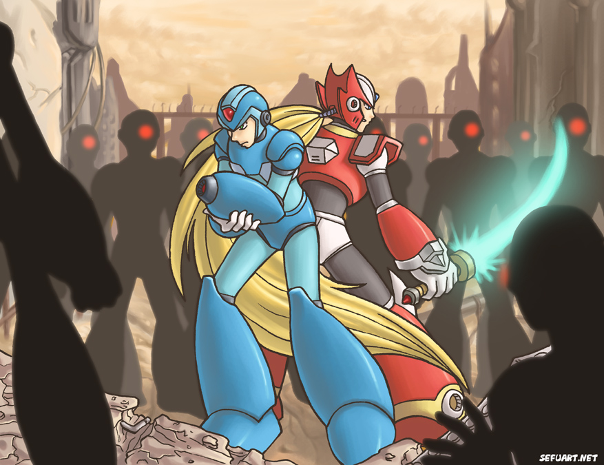 Deviantart Megaman Alia Inflation: Megaman X And Zero By Speeh On DeviantArt